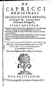 Capricci medicinali: lib. 4