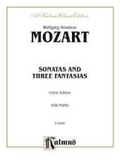 Sonatas and Three Fantasias (Urtext Edition): For Piano