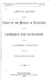 Foreign Commerce and Navigation of the United States: Part 1