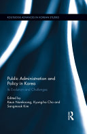 Public Administration and Policy in Korea