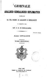 Giornale araldico-genealogico-diplomatico: Volume 2