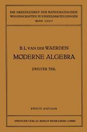 Moderne Algebra: Ausgabe 2