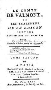 Le Comte de Valmont: ou Les égaremens de la raison, Volume2