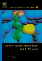 Relativistic Electronic Structure Theory: Part 2. Applications