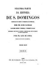 Primeira  quarta  parte da historia de S  Domingos PDF
