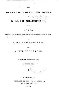 Dramatic Works and Poems