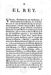 El Rey. [A decree respecting the working and management of the mines in the Spanish possessions in the Indies.]