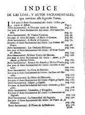 Autos Sacramentales Alegoricos, Y Historiales: Volumen 2