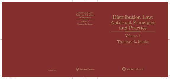 Distribution Law  Antitrust Principles   Practice  3rd Edition PDF