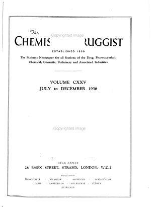 Chemist and Druggist