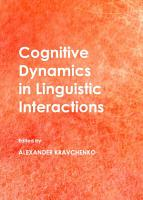 Cognitive Dynamics in Linguistic Interactions PDF