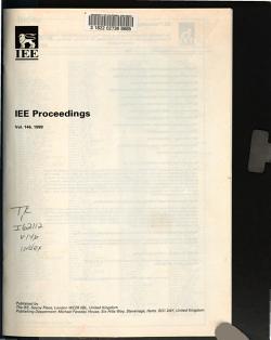 IEE Proceedings PDF