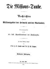 Missions-Taube: Volume 7