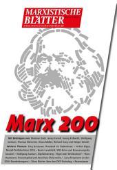 Marx 200: Marxistische Blätter 3_2018