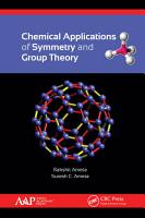 Chemical Applications of Symmetry and Group Theory PDF