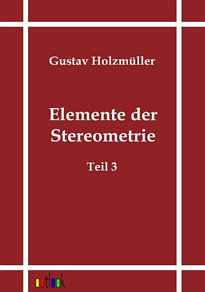 Elemente Der Stereometrie PDF