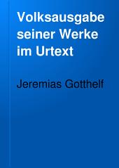 Volksausgabe seiner Werke im Urtext: Bände 2-4