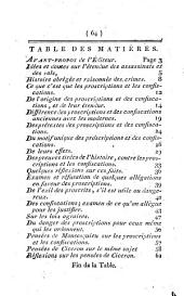 Des Assassinats et des vols politiques, ou des proscriptions et des confiscations. Par Guillaume-Thomas Raynal