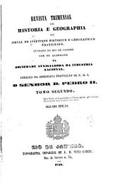 Revista do Instituto Histórico e Geográfico Brasileiro: Volume 2