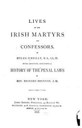 Lives of the Irish Martyrs and Confessors