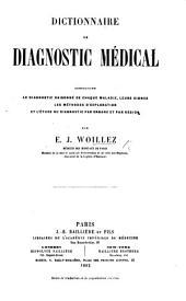 Dictionnaire de diagnostic médical, etc