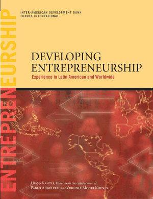 Developing Entrepreneurship