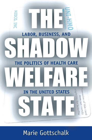 The Shadow Welfare State PDF