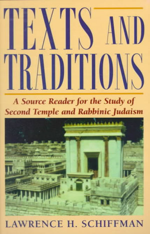 Texts and Traditions
