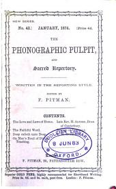 The Phonographic pulpit (ed. by F. Pitman).