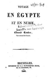 Voyage en Egypte et en Nubie
