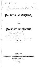 Palmerín of England: Volume 1