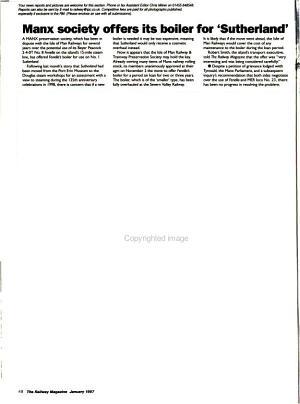 The Railway Magazine PDF