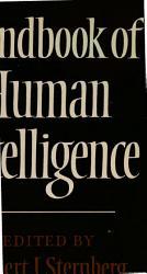 Handbook Of Human Intelligence Book PDF