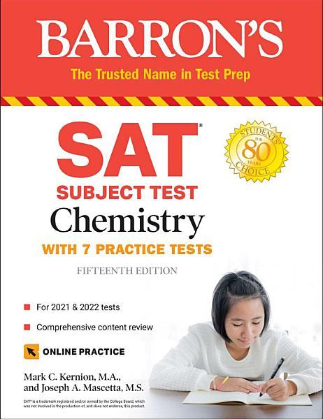 SAT Subject Test Chemistry PDF
