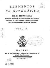 Elementos de matemáticas ...: Volumen 4