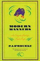 Modern Manners PDF