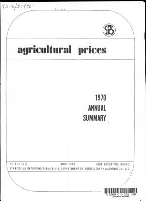 Agricultural Prices  Annual Summary
