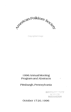 Program and Abstracts PDF