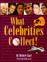 What Celebrities Collect  PDF