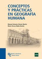 Conceptos y pr  cticas en Geograf  a Humana PDF