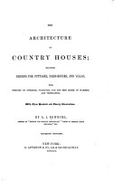 The Architecture of Country Houses PDF
