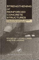 Strengthening of Reinforced Concrete Structures