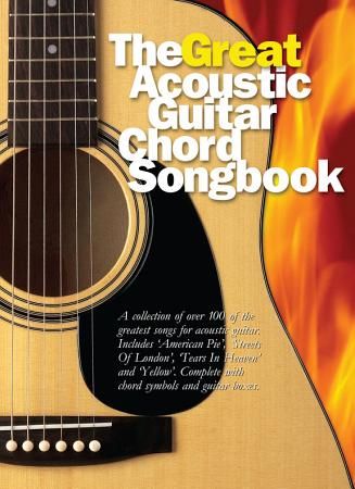 The Great Acoustic Guitar Chord Songbook PDF