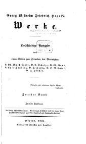 Georg Wilhelm Friedrich Hegel's Phänomenologie des Geistes