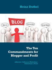 The Ten Commandments for Blogger and Profit: attkacom | Influencer Marketing | Switzerland | Fiverr