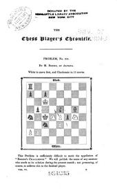 The Chess Player's Chronicle: Volume 6