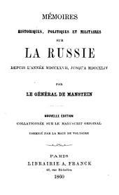 Mémoires historiques, politiques et militaires sur la Russie: dep. l'année 1727 jusqu'a 1744. 2