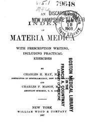 An Index of Materia Medica: With Prescription Writing, Including Practical Exercises