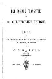 Het sociale vraagstuk en de christelijke religie