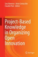 Project Based Knowledge in Organizing Open Innovation PDF